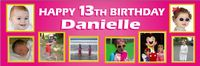 Photo Birthday banner